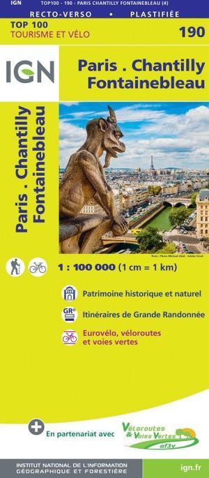 190 Paris, Chantilly, Fontainebleau