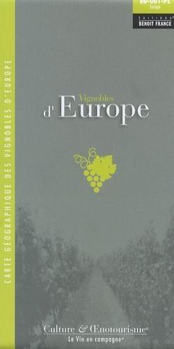Vignobles D'Europe - wijnkaart Europa