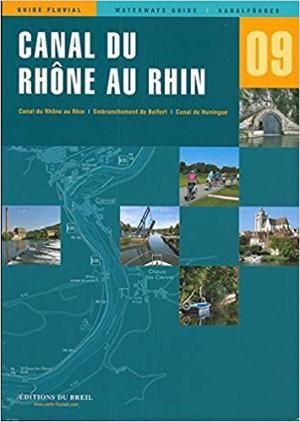 Canal Du Rhone Au Rhin Guide Breil Editions Edb 9