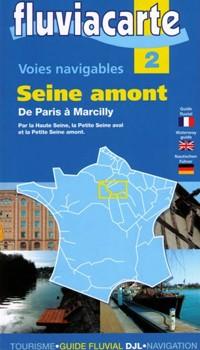 Fluviacarte 2 Seine Amont Paris Marcilly