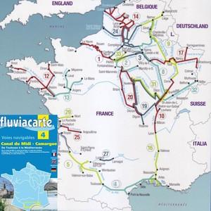 Fluviacarte 04 Canal Du Midi Camargue