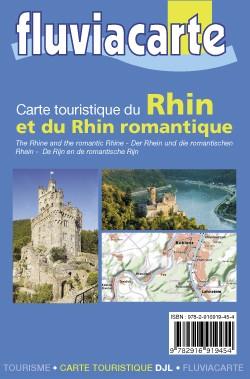 Fluviacarte 17 Canaux Marne-au-rhin