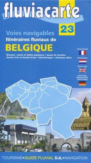 Belgie Scheepvaartwegen Fluviacarte 23