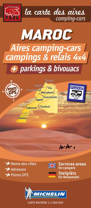 Maroc aires camping-cars + parkings & bivouacs