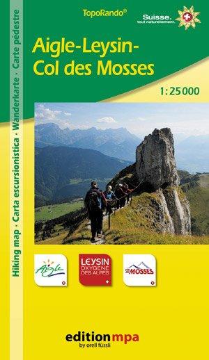Aigle-leysin-col De Mosses 1:25.000