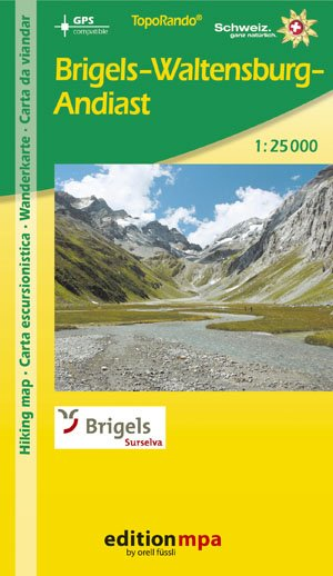 Brigels-waltensburg-andiast 1:25.000