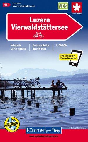 Luzern Vierwalkstattersee Biking Map