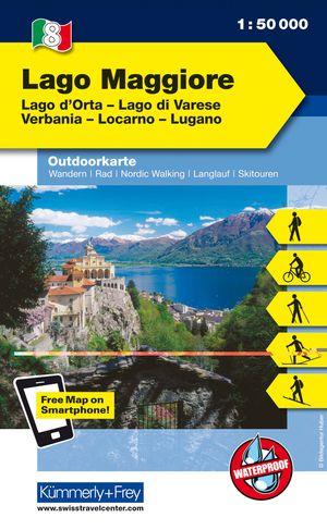 Lago Maggiore K+F wandelkaart