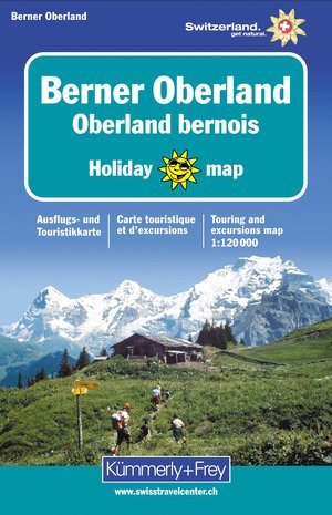 Bernese Oberland Holiday Map