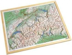 Wooden Framed Switzerland