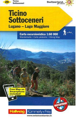 29 Ticino Sottoceneri, Lago Maggiore 1:60.000