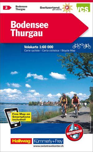 Bodenmeer / Thurgau fietskaart