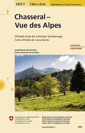 Chasseral - Vue des Alpes