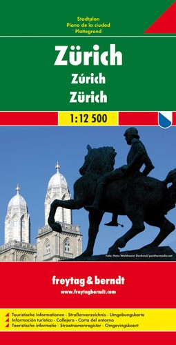 Zürich 1 : 12 500