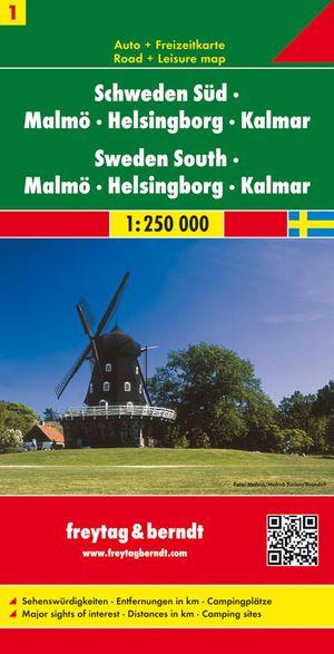 F&B Zweden 1 Zuid, Malmö, Helsingborg, Kalmar
