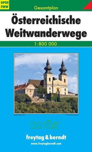 F&B Oostenrijk Lange-afstand-wandelpaden GPOE FWW