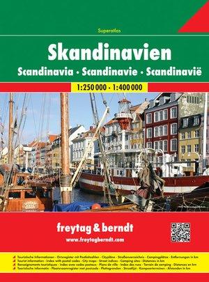 Scandinavië Superatlas F&B - Noorwegen, Zweden, Finland, Denemarken