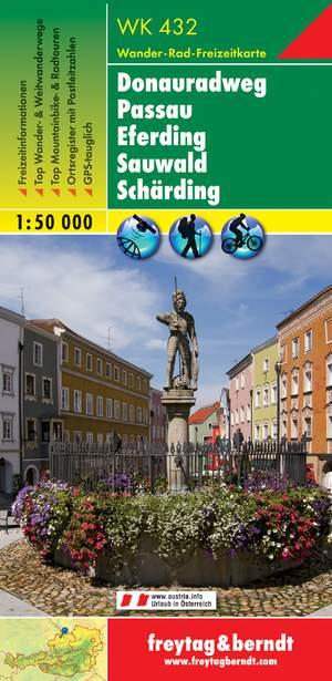 F&B WK432  Donauerradweg, Passau, Eferding, Sauwald, Schärding