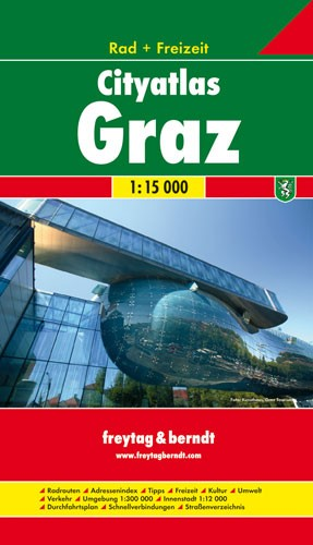City Atlas Graz Rad & Freizeit Krt