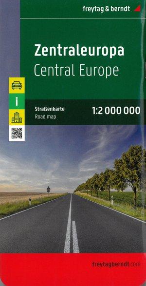 Zentraleuropa 1 : 2 000 000. Autokarte