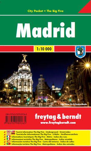 F&B Madrid city pocket