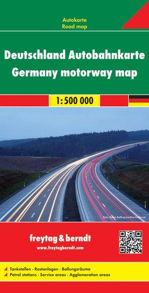 F&B Duitsland Autobahnkarte