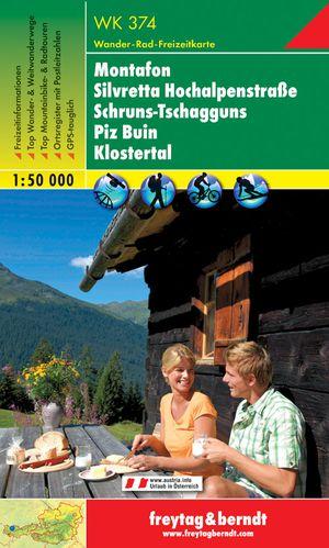 F&B WK374 Montafon, Silvretta Hochalpenstrasse, Schruns Tschagguns, Piz Buin, Klostertal