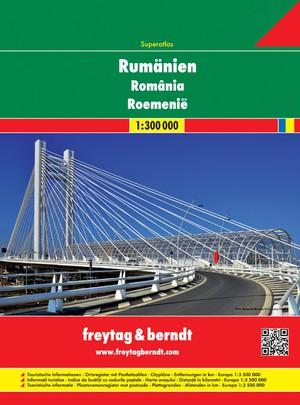 Roemenië & Moldavië Wegenatlas F&B