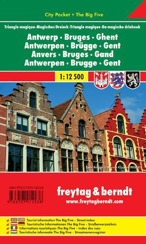 F&B Antwerpen, Brugge, Gent  city pocket
