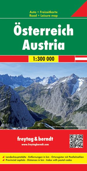 F&B Oostenrijk 2-zijdig West-gevouwen