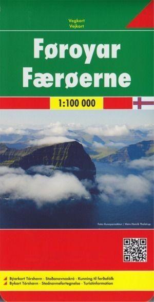 Färöer 1 : 100 000 Freytag & Berndt