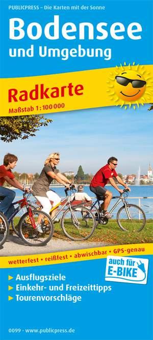 Bodenmeer & omg. fietskaart