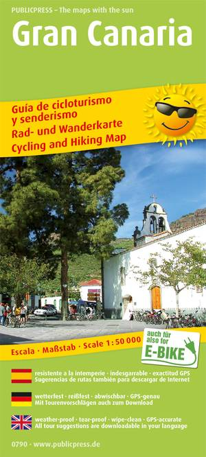 Gran Canaria fiets- & wandelkaart