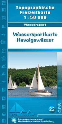 Havelgewasser 1:50.000 Wassersportkarte