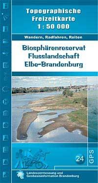 Elbe-brandenburg Biospharen 1:50 Lva Br