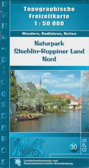 Np Stechlin-ruppiner Land Nord 1:50.000 Br