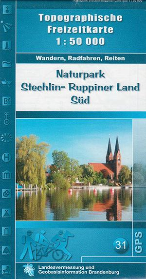 Np Stechlin-ruppiner Land Sud 1:50.000