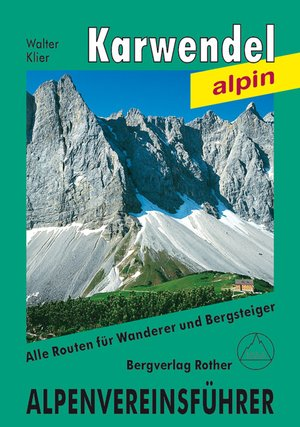 Karwendel Rother Alpenvereinsfuhrer