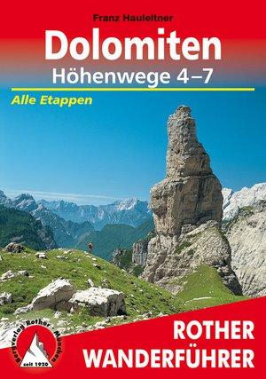 Dolomiten - Höhenwege 4-7 (wf)