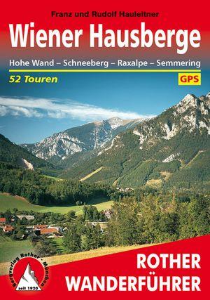 Wiener Hausberge Rother Wanderfuhrer