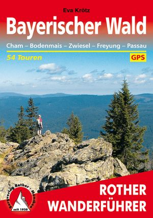 Bayerischer Wald (wf) 54T GPS Cham-Bodenmais-Zwiesel-Passau wandelgids