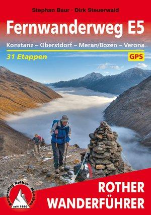 Fernwanderweg E5 (wf) 31T GPS Konstanz - Meran/Bozen