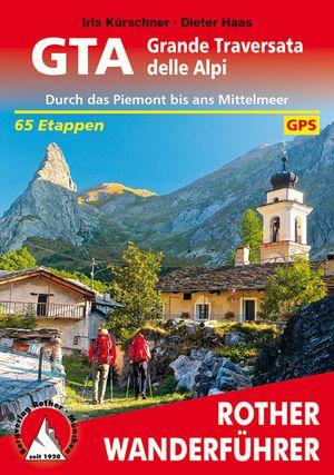 GTA - Grande Traversata della Alpi (wf) GPS Piemont-Mittelm.