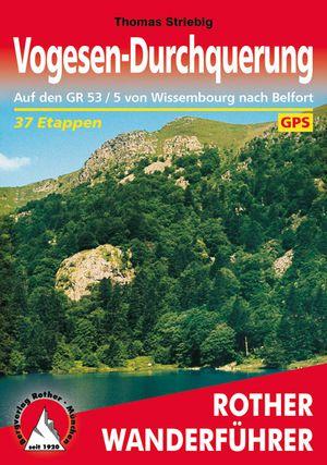 Vogesen-Durchquer. (wf)37T GPS GR53/5Wissembourg-Belfort