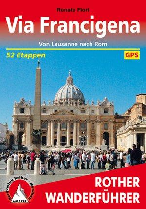 Via Francigena (wf) 52T GPS Lausanne nach Rom