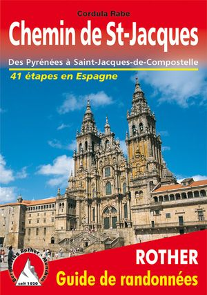 Chemin St-Jacques en Espagne guide rando 42 ét.