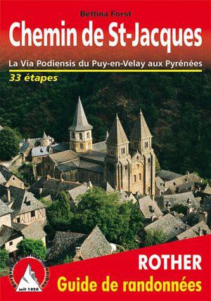 Chemin de St-Jacques via Podiensis Puy-en-Velay-Pyrénées
