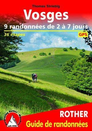 Vosges 9 rando de 2 à 7 jours guide rando 36T