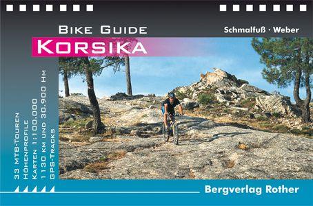 Korsika : 29 Mountainbike Touren GPS (Bike Guide)