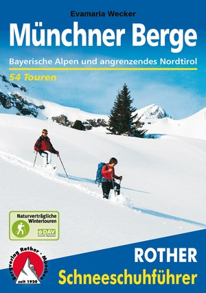 Münchner Berge (sf) 54T Bayerische Alpen & angr. Nordtirol